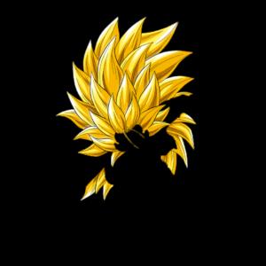 Goku super saiyan hair png
