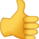Thumbs up sign