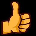 emojidex thumbs up png