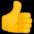 google Thumbs up emoji