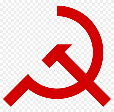 hammer and sickle png red