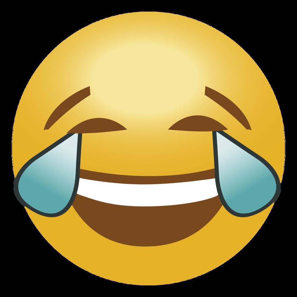Laughing Crying Emoji PNG