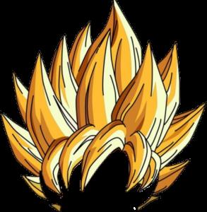 super saiyan god hair png