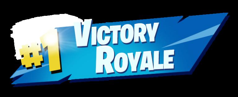 Top 10 Fortnite #1 Victory Royale PNG |Vectors|HD ...