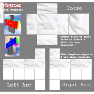 This is an image of roblox template download