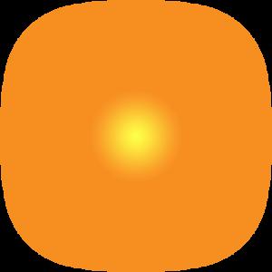 glowing sun png