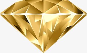 gold diamond png