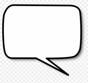 rectangle speech bubble