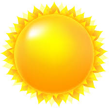 transparent sun